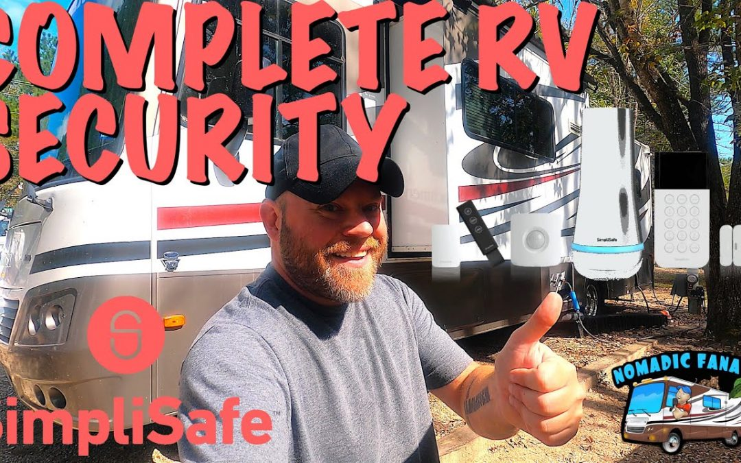 SimpliSafe DIY RV/Home Security ~ Monitor EVERYTHING From Phone