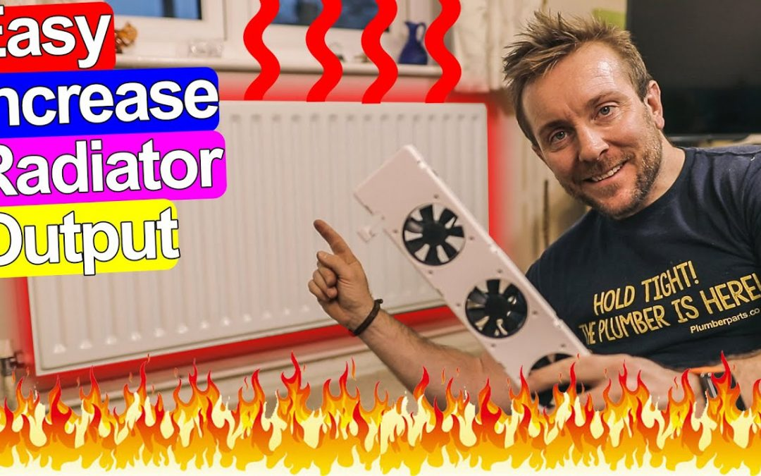 INCREASE RADIATOR OUTPUT IN 2 STEPS – EASY!
