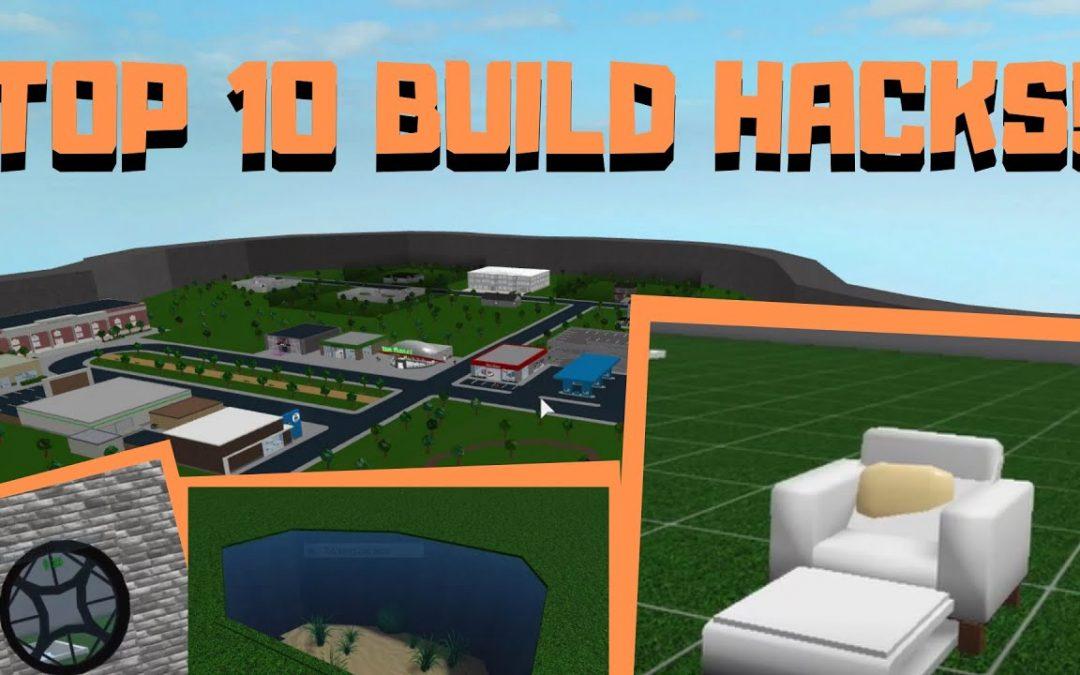 TOP 10 BLOXBURG BUILD HACKS!