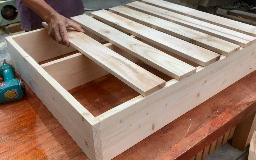 Woodworking Project From Cheap Pallet // DIY Wall Bar Indoor Garden Outdoor Pub Wooden Pallet